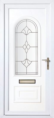 Upvc front doors glasgow scotland the door factory for Upvc doors scotland