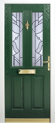Altmore-Black-Abstract Composite Door